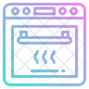 Oven Cooking Kitchenware Icon