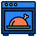 Oven Food Cooking Icon