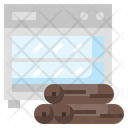 Oven Drying Carpentry Icon
