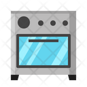 Oven Roast Cooking Icon