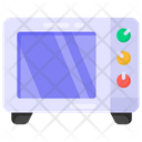 Microwave Oven Kitchen Appliance Icon