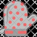 Oven Mitt Oven Glove Pot Holder Icon
