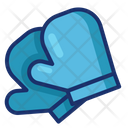 Oven Mitt Glove Icon