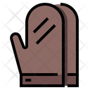 Oven Mitts Cooking Gloves Baking Gloves Icon