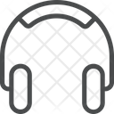 Over Ear Headphones Icon