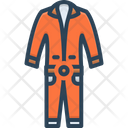 Overalls Workwear Template Icon