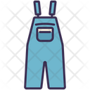 Overalls Jumpsuit Clothes Icon
