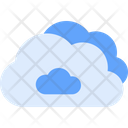 Overcast Cloud Cloudy Icon