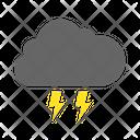 Overcast Thunder Icon