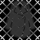 Overcoat Winter Wear Clothing Icon