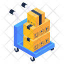 Overloaded Shipment Overflow Shipment Overflow Luggage Icon