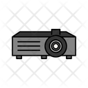 Overhead Projector Laboratory School Supplies Icon