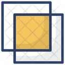 Overlap Copy Paste Archive Icon