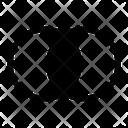 Intersection Venn Diagram Interlocking Circles Icon