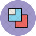 Overlapping Overlap Layer Icon