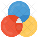 Interlocking Circles Diagram Icon