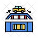Overpass Driving Icon