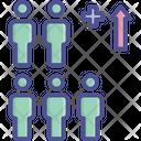 Birth Growth Mass Icon