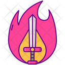 Overpowered Combat Game War Icon