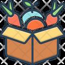 Overproducing Box Vegetable Icon