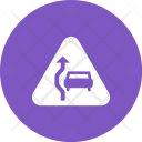 Overtake sign Icon