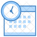 Overtime Calendar Time Icon