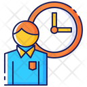 Business Overtime Work Icon