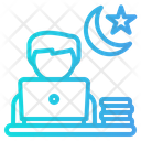 Overtime Worker Stressed Icon