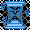 Overtime Hourglass Deadline Icon