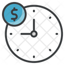 Overtime Late Hours Extra Time Icon