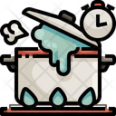 Overtime Cooking Cook Time Time Icon