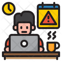 Overtime Work Icon
