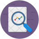 File Audit Document Checking Document Analysis Icon