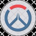 Overwatch Joystick Playstation Icon