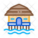 Overwater Bungalow Icon