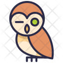 Owl Animal Wildlife Icon