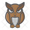Owl Bird Wisdom Icon