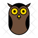 Owl Halloween Night Icon