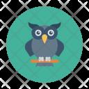 Owl Bird Halloween Icon