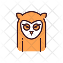 Owl Bird Night Bird Icon