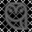 Owl Nocturnal Bird Icon