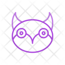 Owl Bird Fly Icon