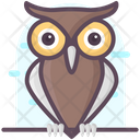 Owl Animal Owl Wisdom Animal Icon