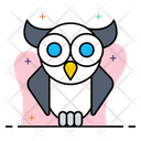 Owl Education School Icon