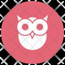 Owl Bird Scary Icon