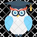 Owl Sage Bird Icon