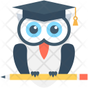 Owl Sage Bird Icon