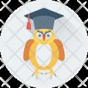 Graduate Owl Sage Icon