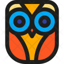 Owl Night Wise Icon
