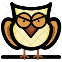 Owl Bird Wise Icon
